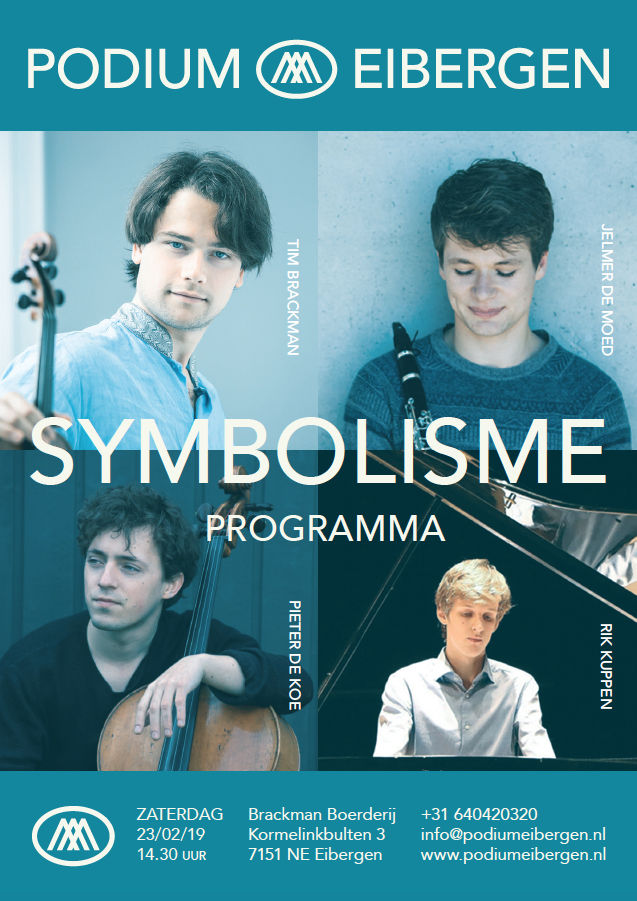 Programma 23-02-19 © Podium Eibergen H.E. Brackman
