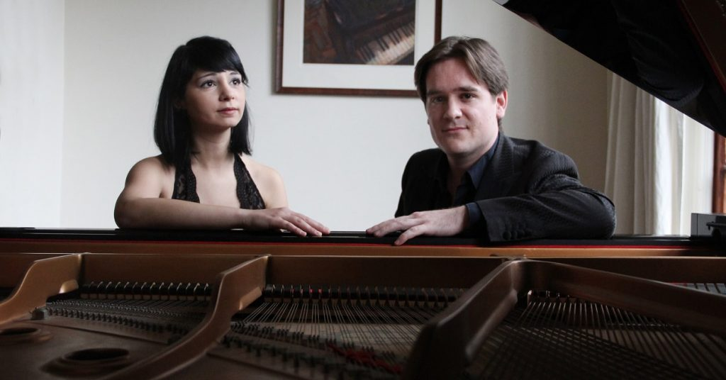 © | Maarten den Hengst en Ivana Alkovic | photo by Piano Duo Amacord