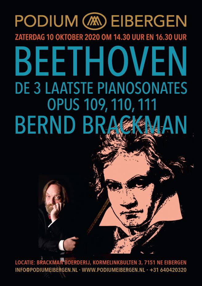 Programma 10-10-20 © Podium Eibergen H.E. Brackman