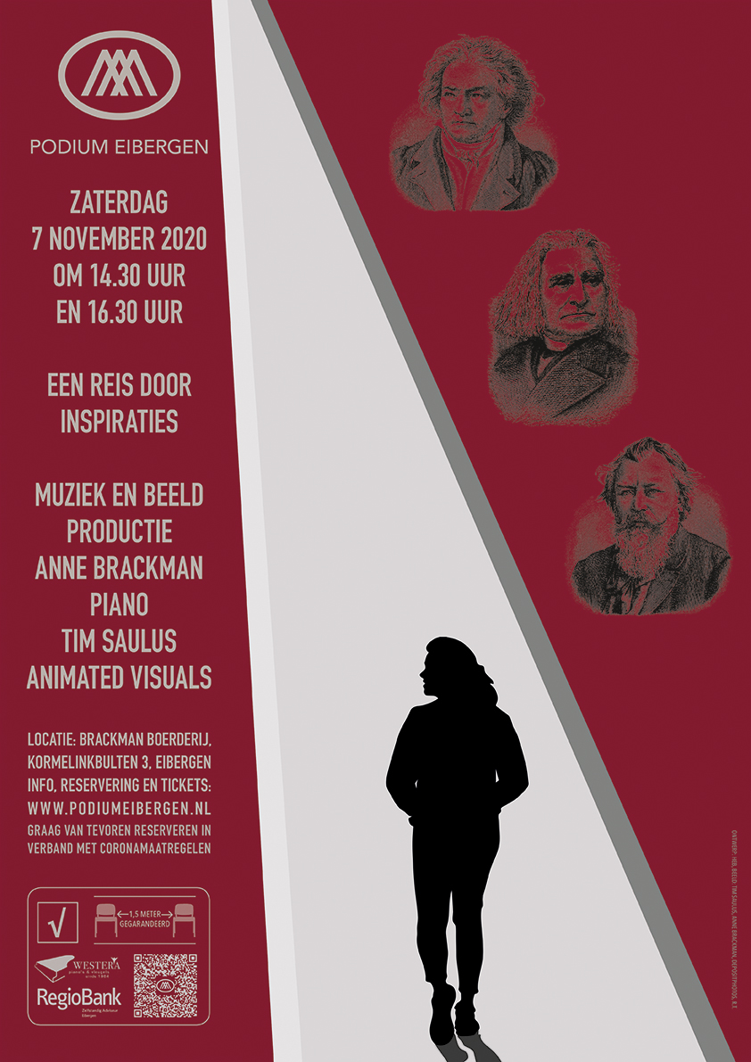 Poster 07-11-20 © Podium Eibergen H.E. Brackman/T. Saulus