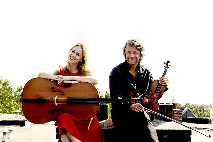 Daniel Rowland en Maja Bogdanović, viool en cello